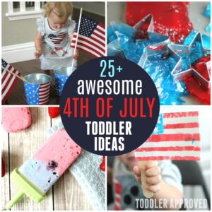 25 Easy Fourth of July Activities for Toddlers