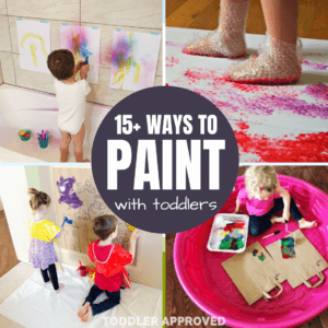 15+ Creative Ways to Paint with Toddlers