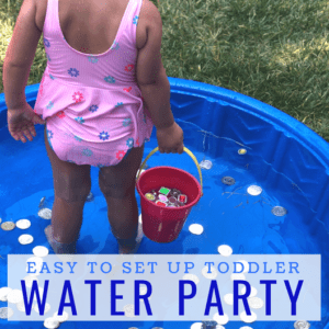 Easy to Set Up Water Party for Toddlers and Preschoolers!