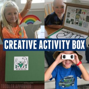Creative Monthly Children's Subscription Kit from Ivy Kids