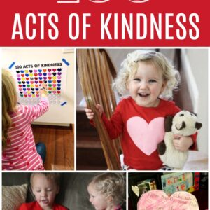 100 Acts of Kindness Challenge 2019 for Toddlers & Preschoolers
