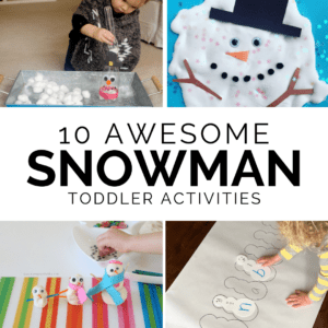 10 Awesome Snowman Themed Activities