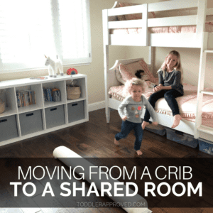 Tips for Moving a Toddler from a Crib to a Shared Room