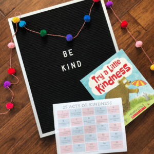 Sticker Act of Kindness for Kids