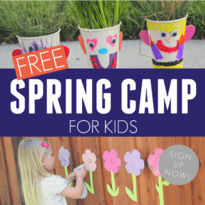 Free Spring Camp for Toddlers and Preschoolers!