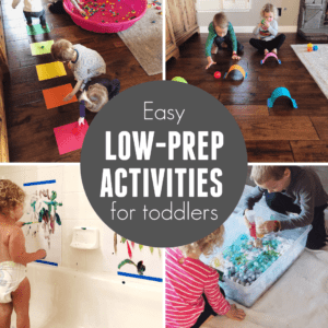 Quick Easy Activities for Toddlers