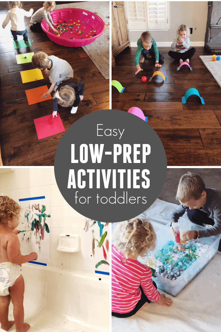 Quick Easy Activities for Toddlers   Toddler Approved