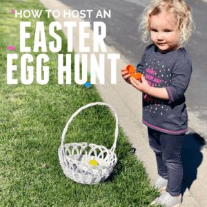 How to Host a Toddler Easter Egg Hunt