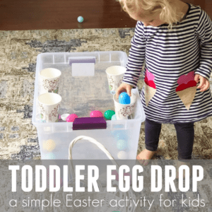Toddler Plastic Egg Drop Game