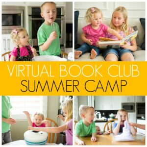 Easy to Set Up Toddler Summer Camp at Home!