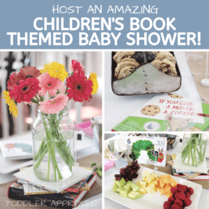 Host a Children's Book Themed Baby Shower