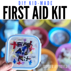 DIY Kid-Made First Aid Kit