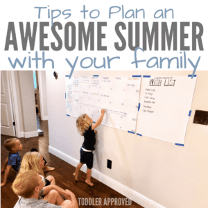Tips to Plan an Awesome Summer with your Family!