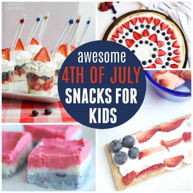 Easy 4th of july snacks for kids