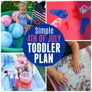 Your Simple 4th of July Toddler Activity Plan