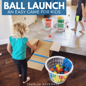 Easy Ball Launch Activity for Kids