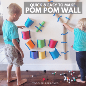 Quick & Easy to Make Pom Pom Wall