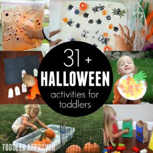 31+ Awesome Halloween Activities for Toddlers