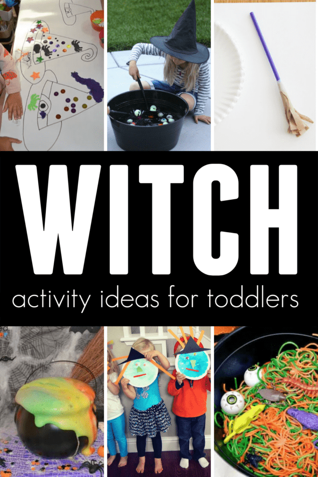 witch themed activity ideas for halloween