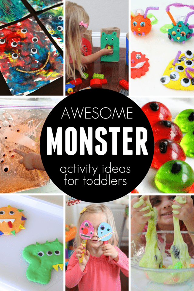 monster themed halloween activities