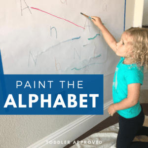 Paint the Alphabet- Toddler Matching Game