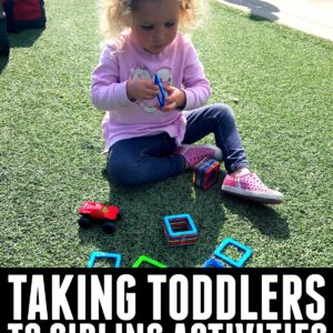 How To Keep a Toddler Busy at a Sibling's Sports Game