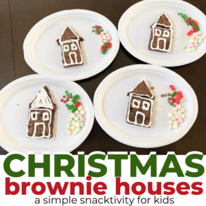 Christmas Brownie Houses | Easy Holiday Treat