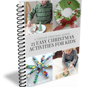 Toddler Christmas Advent: 25 Days of Easy Activities Ebook