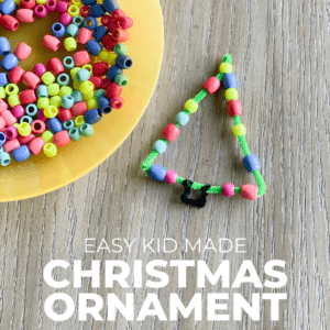 Easy Toddler Christmas Ornament