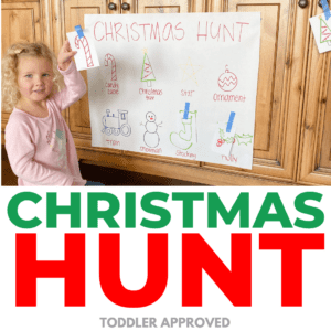 Christmas Hunt: Toddler Matching Activity