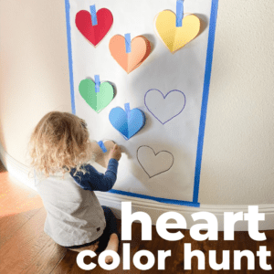 Learning Colors Hunt with Hearts