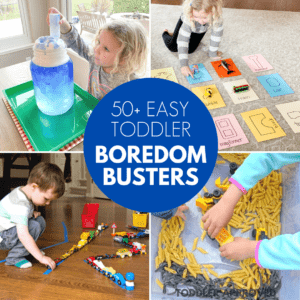 Easy to Set Up Toddler Boredom Busters