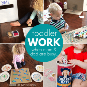 Toddler Activities for Working Parents