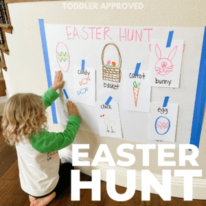 Easter Hunt: Toddler Matching Activity