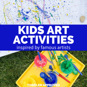 Famous Artists Activities for Kids