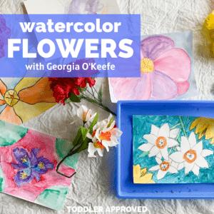 Georgia O'Keefe Art Project for Kids