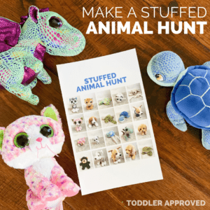 Make a Stuffed Animal Hunt for Kids