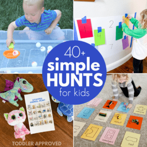 Simple Learning Hunts for Toddlers