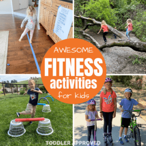 Fitness Themed Activities for Kids