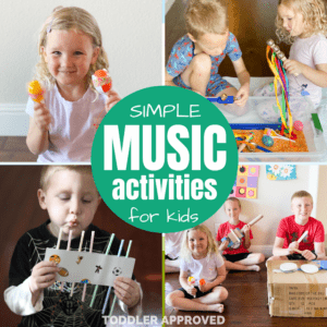 Music Themed Activities for Kids