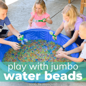 Jumbo Water Bead Play Outdoor Activity