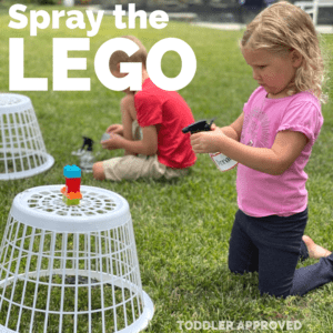 Easy LEGO Water Play Activity for Kids