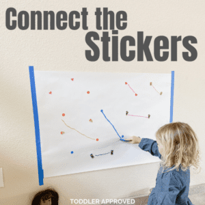 Connect the Stickers Fine Motor Activity for Kids