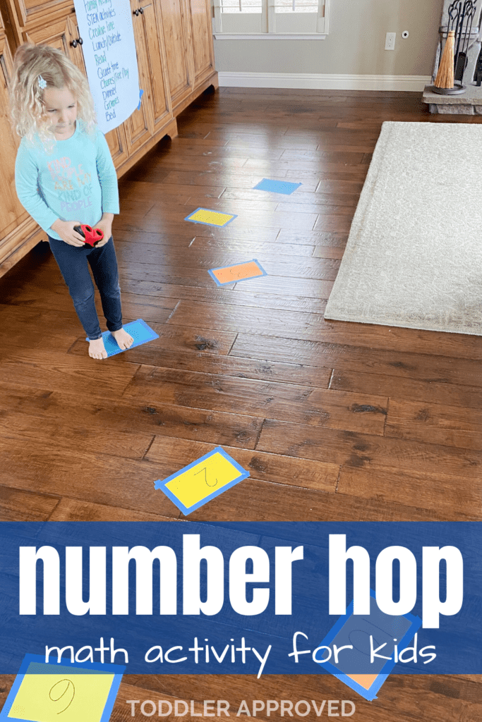 simple math jumping game for kids