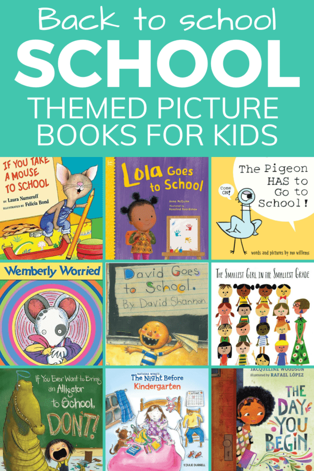 back to school pictures books for toddlers and preschoolers