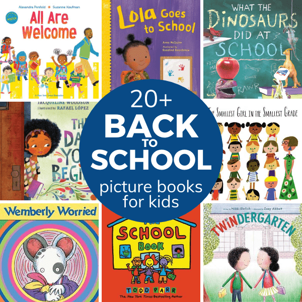 20+ back to school books for kids