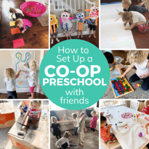 How to Start a Co-op Preschool with Friends