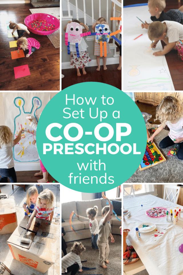 homeschool preschool co-op tips