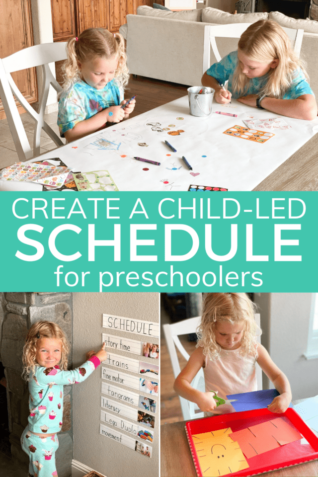 child led schedule