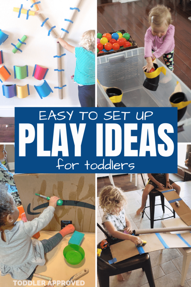 simple play ideas for toddlers